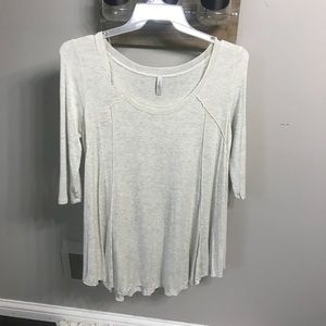 Tops - Boutique 3/4 sleeve shirt